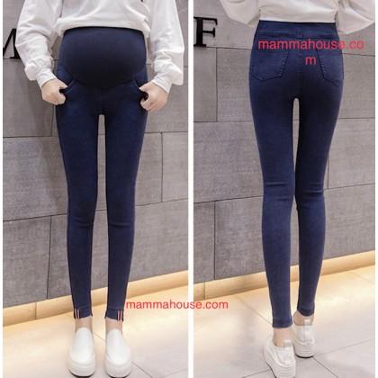 Maternity Jeans - Skinny Flag Black or Dark Blue
