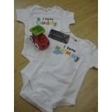 Baby Bodysuit F (tag 6-12mths)