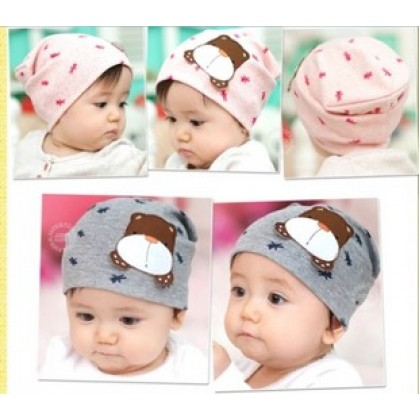 Baby Hat - Bear (3 colors)