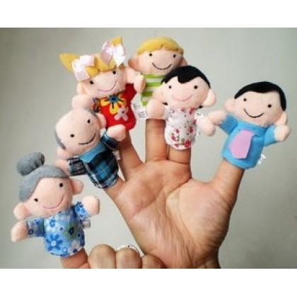 Baby Finger Doll - family