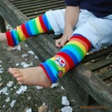 Baby Legging Love Mom Rainbow