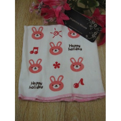 New born baby - seamless belly wrap little rabbit