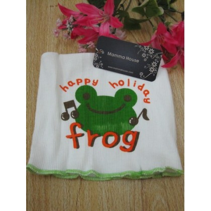 New born baby - seamless belly frog