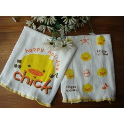 New born baby - seamless belly wrap little chick