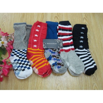 Baby long sock - boy style (1-4 yrs)