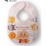 Baby Bib - Anpanman Friends Pink