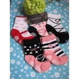 Baby sock - girl shoe