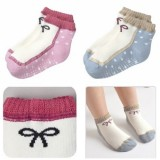 Baby Sock - 2 color girl shoe/pair