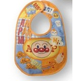 Baby Bib - Anpanman New Orange