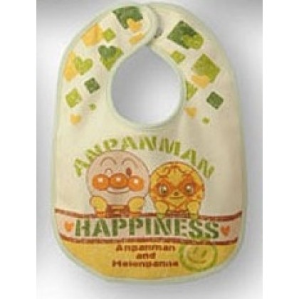 Baby Bib - Anpanman New Yellow
