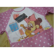Baby Bib - Waterproof Minnie Music