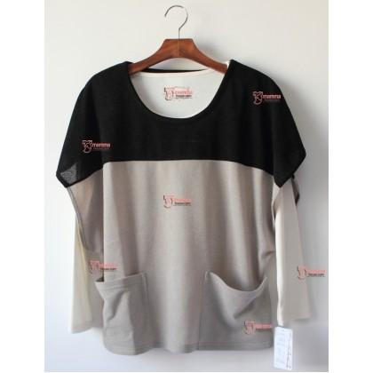 Nursing Tops - Japan Long 2 Grey