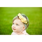 Baby Headband - Rose Yellow