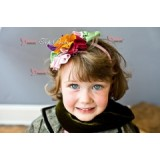 Baby Headband - Flower Colorful