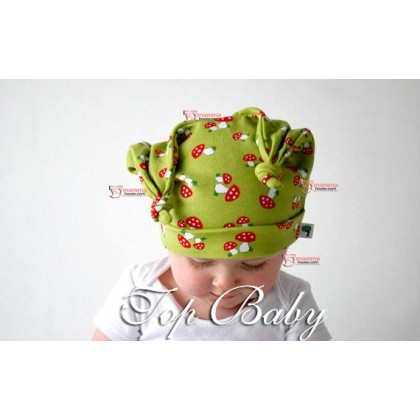 Baby Hat - Cute Mushroom