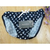 Maternity Panties - JP Soft Blue Dot