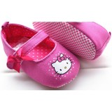 Baby Shoes - Kitty Pink