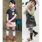 Baby Socks - Girl Top Stripe