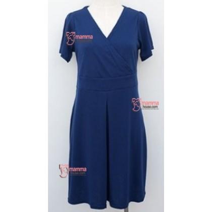 Nursing Dress - Dark Blue JP