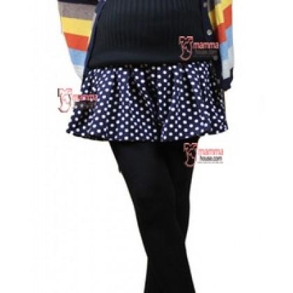 Maternity Shorts - Skirt Like Polka