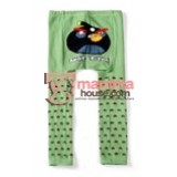 Baby Tights - Angry Bird Green