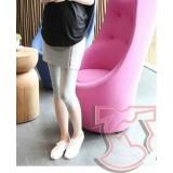 Maternity Legging - Zip Grey