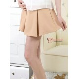 Maternity Short - Working Chiffon Dark Beige