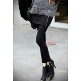 Long Legging - Zip Long Black or Dark,Light Grey