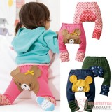 Baby Long Pants - Bear