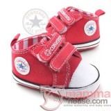 Baby Shoes - Converse Red