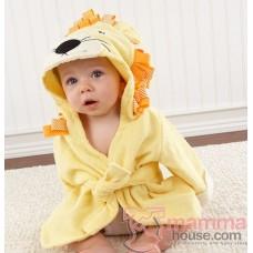 Baby Bathrobe - Cute Lion