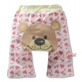 Baby Long Pants - Disney Bear (Light Pink)