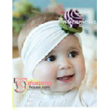 Baby Headband - Rose Unique Purple
