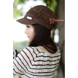 Mamma Confinement Cap - Wave Brown