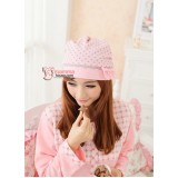 Mamma Confinement Hat - Ribbon Pink