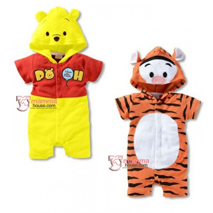Baby Clothes - Romper Disney Tigger or Pooh