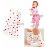 Baby Legging - Little Heart White