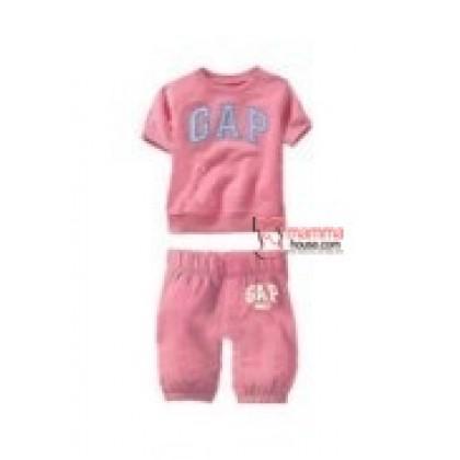 Baby Clothes - 2 pcs GAP Sport Pink