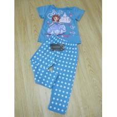 Baby Clothes - 2 pcs Sopia Short Purple Polka