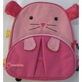 Baby Backpack - Pink Mouse