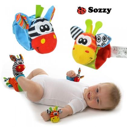Baby Rattles - Giraffe (2 colors)