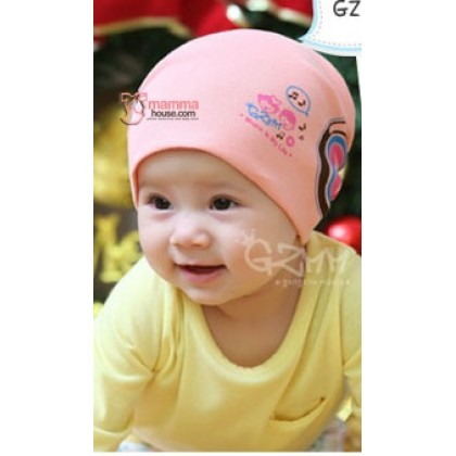 Baby Hat - Headset Pink