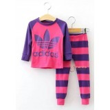 Baby Pajamas - Long Adi Dark Pink (2-7yrs)