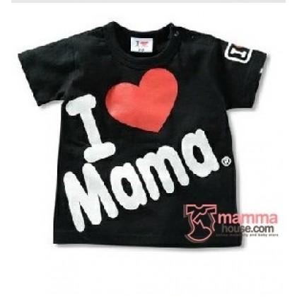 Baby Tops - Love Mama Tops Black