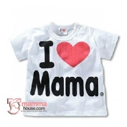Baby Tops - Love Mama Tops White