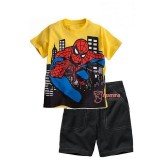 Baby Clothes - Spider Man Yellow