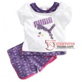 Baby Clothes - Puma Purple White