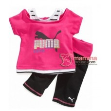 Baby Clothes - Puma Shine Pink