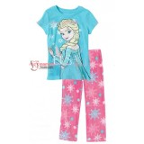 Baby Pajamas - Elsa Blue Castle 2-7yrs)