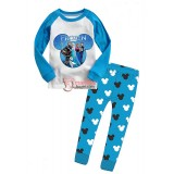 Baby Pajamas - Long Frozen Blue (2-7yrs)